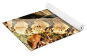 Timber Rattlesnake Horizontal Yoga Mat