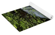 Top Of Clear Creek Falls Yoga Mat