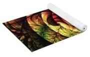 Touch Of Sunshine Abstract Yoga Mat