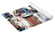 Traditional Drummers Yoga Mat