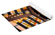 Train Track Abstract Yoga Mat
