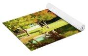 Tranquil Landscape At A Lake 3 Yoga Mat