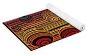 Transitional Flow Map Yoga Mat