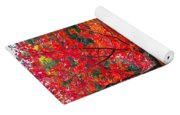 Tree In The Pond Yoga Mat