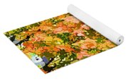Tree With Autumn Leaves Yoga Mat