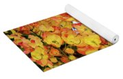Trees And Flowers In Hawaii Yoga Mat
