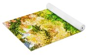 Trees And Leaves  Yoga Mat