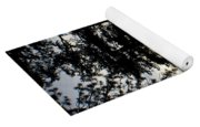 Trees By The Lake Yoga Mat