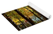 Tree's In The Forest Yoga Mat