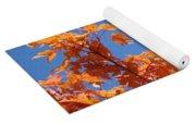 Trees Landscape Art Print Fall Tree Leaves Baslee Troutman Yoga Mat