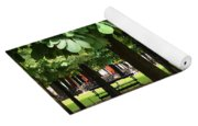 Trees Of Tuilieres Yoga Mat