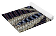 Triple Abstract Yoga Mat