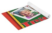 Tripoley Board Game Painting Yoga Mat