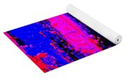 Triptych 2 Cropped Yoga Mat