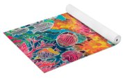 Tropical Coral Yoga Mat