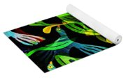 Tropical Flock Yoga Mat