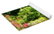 Tropical Garden By Lake Yoga Mat