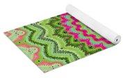 Tropical Kaleidoscope Yoga Mat