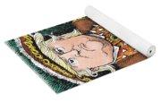 Trump As King Henry Viii Yoga Mat