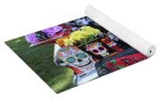 Trunk El Camino Day Dead  Yoga Mat
