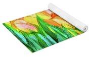 Tulip Bloomies 4 - Yellow Yoga Mat
