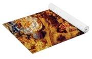 Turkey Tail Mushrooms  Yoga Mat