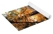 Turning Of The Leaves Yoga Mat