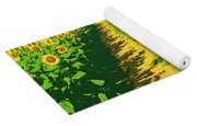 Tuscany Sunflowers Yoga Mat