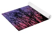 Twilight Trees Yoga Mat