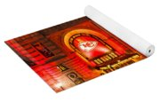 Union Station In Chiefs Red Yoga Mat
