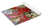 Vase Of Flowers Yoga Mat