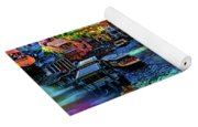 Venice Coming And Going Yoga Mat