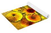 Vincent's Sunflowers Yoga Mat