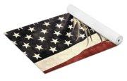 Vintage Flag With Eagle Yoga Mat