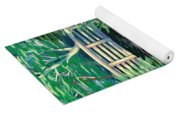Water Lilies Bridge Yoga Mat