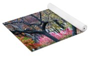 Watercolor Forest Yoga Mat
