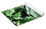 Waterelons In A Vegetable Garden Yoga Mat