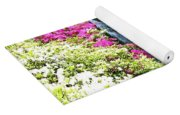 Waterfall In Spring Yoga Mat