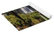 Waterfall In The Jungle Yoga Mat