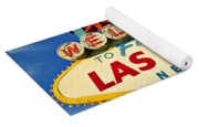 Welcome To Las Vegas Sign Yoga Mat
