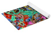 Welcome To The Machine Green Yoga Mat