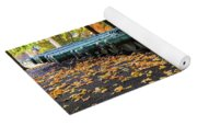 West Point Fall Leaves Yoga Mat