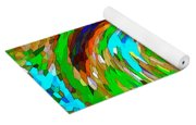 Whirlwind - Abstract Art Yoga Mat