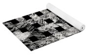 White And Black In My Hands Yoga Mat
