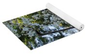 Wild Cherry Tree Blossoms On Verona Yoga Mat