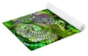 Wild Curves Abstract Yoga Mat
