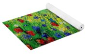 Wild Flowers 670130 Yoga Mat
