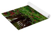 Wild Flowers On The Cliff Path Yoga Mat