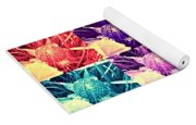 Wild Strawberry In Different Flavors Yoga Mat