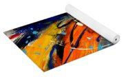 Wild Sunflower 2 Yoga Mat